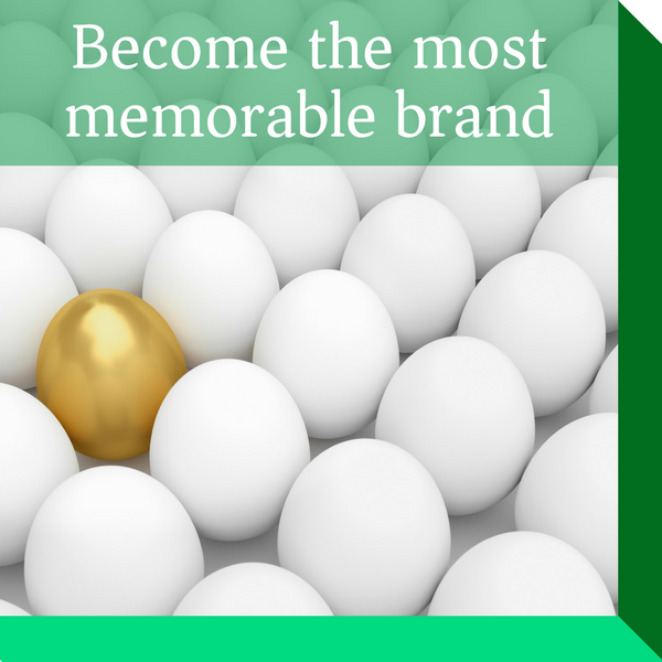 Become the most memorable brand in your sector by building a remarkably different branded customer experience that gets your customers recommending your brand to their friends.